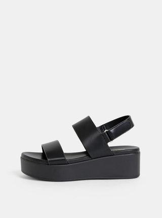 Černé dámské sandály na platformě ALDO Agrerinia