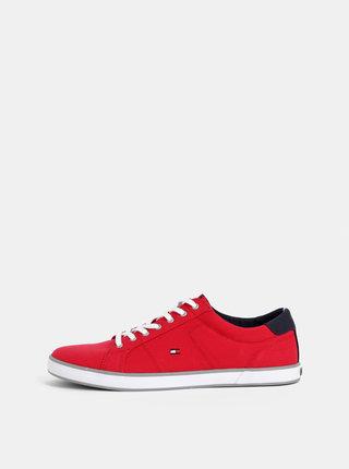 Červené pánské tenisky Tommy Hilfiger