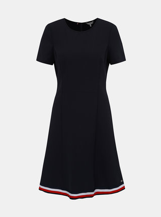 Tmavomodré šaty Tommy Hilfiger Angela