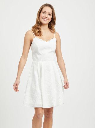 Biele šaty VILA Linea
