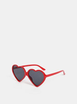 Červené dámské sluneční brýle Haily´s Hearty