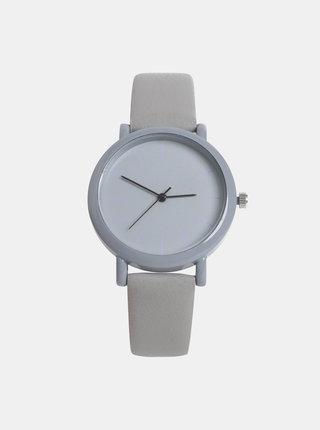 50d4dc444 Dámske hodinky so svetlošedým remienkom Haily´s Sammy