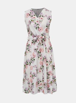 Bílé květované šaty Haily´s Arielle
