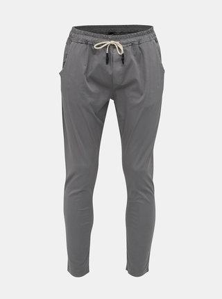 Šedé pánske kalhoty Haily´s Pepe