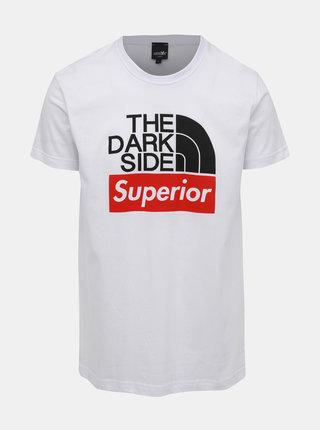 Biele pánske tričko s potlačou Haily´s Superior