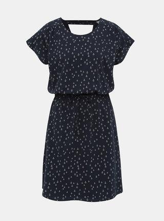 Tmavomodré vzorované šaty Jacqueline de Yong Billie