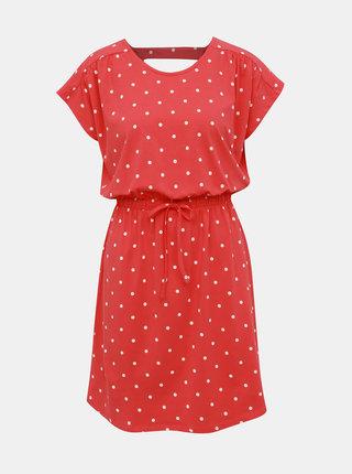 Červené puntíkované šaty Jacqueline de Yong Billie
