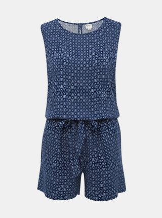 Modrý vzorovaný overal Jacqueline de Yong Star