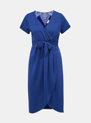 Modré šaty na kojenie Mama.licious Ura