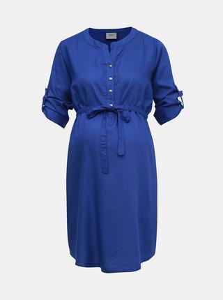 Modrá tehotenská tunika Mama.licious Mercy