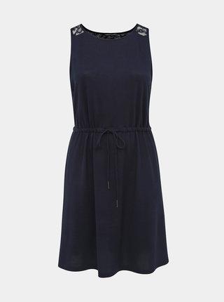 Tmavomodré svetrové šaty ONLY CARMAKOMA Alba