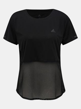 Černé dámské funkční tričko adidas Performance