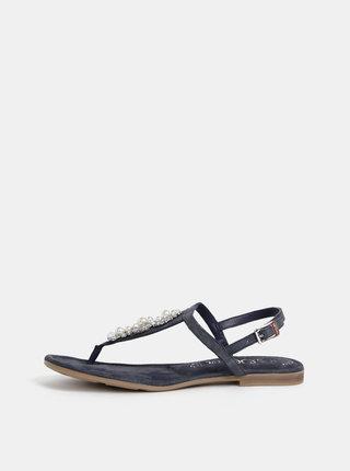 Tmavošedé semišové sandály s.Oliver
