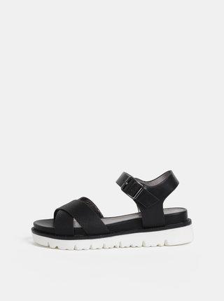 Čierne dámske sandály s.Oliver