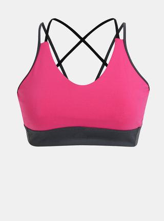 Rúžová športová podprsenka adidas Performance