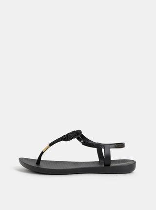Černé sandály Ipanema Glass