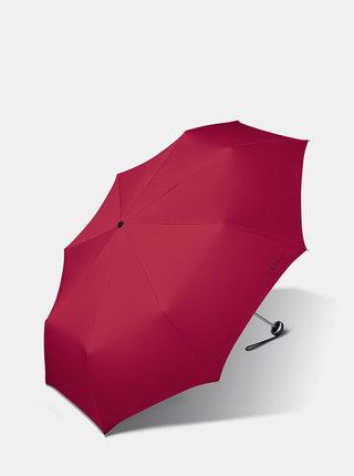Červený skladací dáždnik Esprit Mini ALU