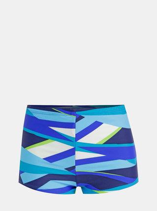 Modrý dámsky vzorovaný spodný diel plaviek M&Co