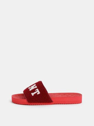 Červené dámské pantofle GANT Haley
