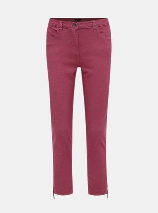 Růžové dámské slim fit džíny M&Co