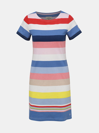 Bielo-modré pruhované šaty Tom Joule Riviera