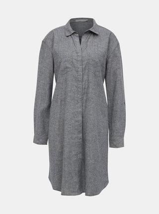 Šedé košeľové šaty prAna La Noa