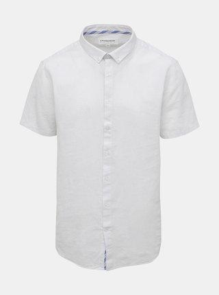 Bílá lněná košile Lindbergh