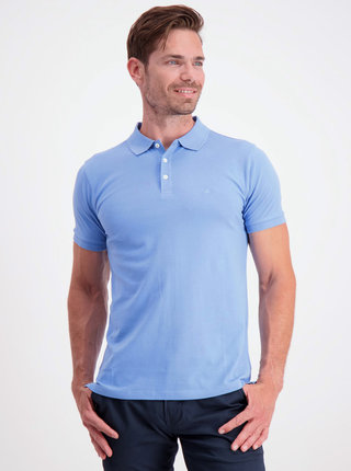 Modré basic polo tričko Lindbergh