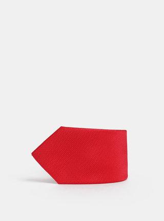 Červená kravata Avantgard Lux