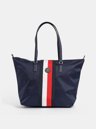 Tmavě modrý shopper Tommy Hilfiger Poppy