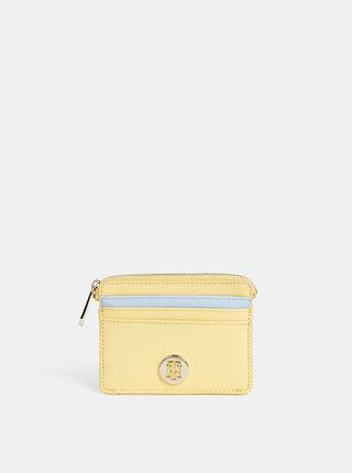 Žlutá dámska malá peňaženka Tommy Hilfiger Honey