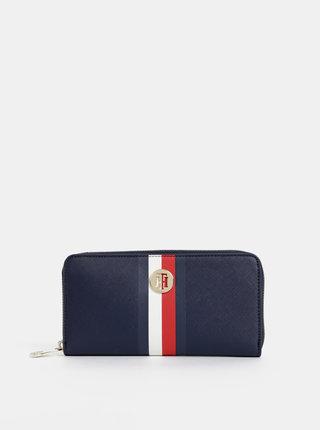 Tmavomodrá dámska veľká peňaženka Tommy Hilfiger Honey