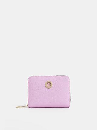 Rúžová dámska malá peňaženka Tommy Hilfiger Core
