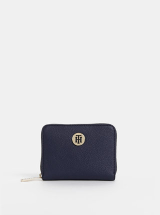 Tmavě modrá dámská malá peněženka Tommy Hilfiger Core