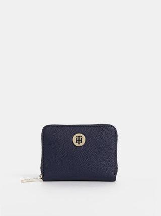 Tmavomodrá dámska malá peňaženka Tommy Hilfiger Core