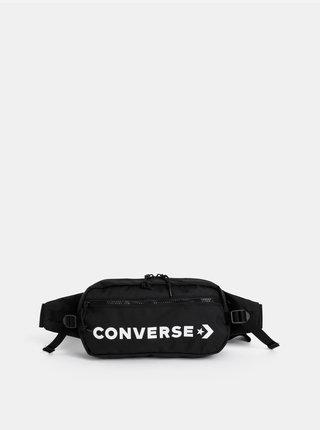 Černá ledvinka s potiskem Converse