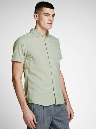 Camasa verde deschis Jack & Jones Anthony