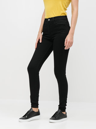Blugi negri super skinny fit de dama Levi's® 720