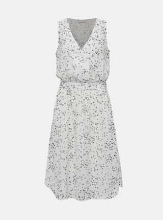 Biele vzorované šaty Jacqueline de Yong Layla