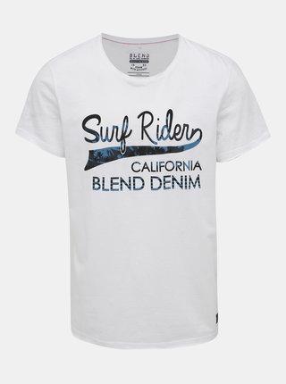 Bílé tričko s potiskem Blend