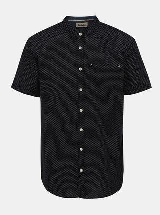 Černá vzorovaná košeľa Blend
