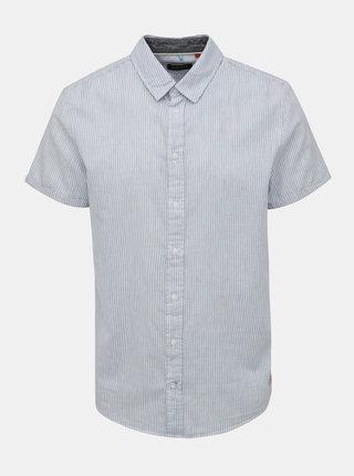 Modro-bílá pruhovaná košile Blend