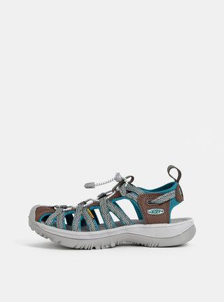 Hnedo-modré dámske sandále Keen Whisper