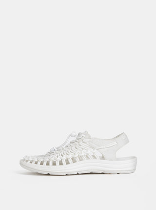 Biele dámske sandále Keen Uneek