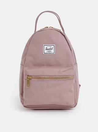Starorůžový dámský batoh Herschel Supply Nova mini 9 l