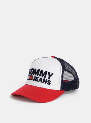 Modro-bílá kšiltovka s výšivkou Tommy Hilfiger