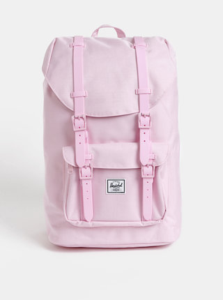 Růžový dámský batoh Herschel Supply Little America 17 l
