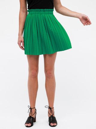 Zelená plisovaná sukně Haily´s Lana