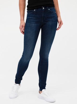 Tmavě modré dámské skinny fit džíny Calvin Klein Jeans