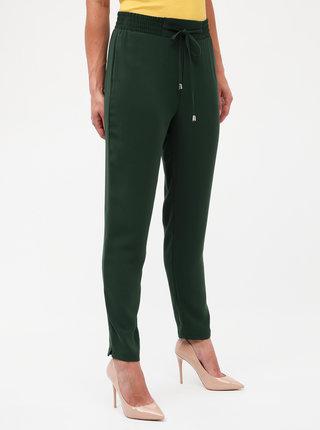 Khaki kalhoty s vysokým pasem Dorothy Perkins
